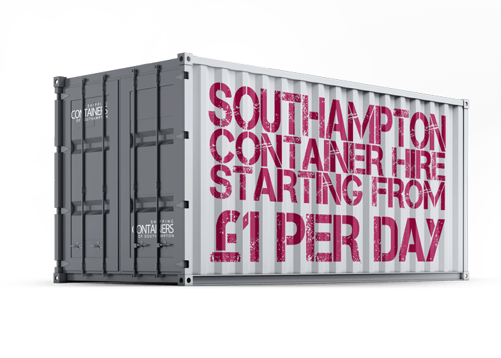 CONTAINER HIRE IN SOUTHAMPTON