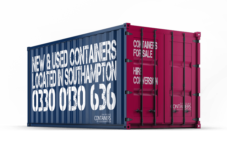 USED SHIPPING CONTAINERS IN SOUTHAMPTON