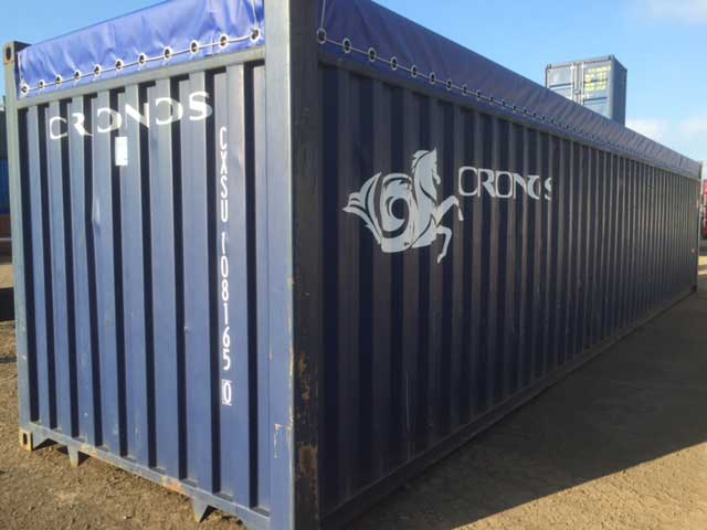 shipping containers of Southampton Shipping Container image